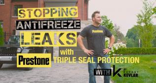 Prestone® Triple Seal Protection™ with DuPont™ Kevlar® Resin